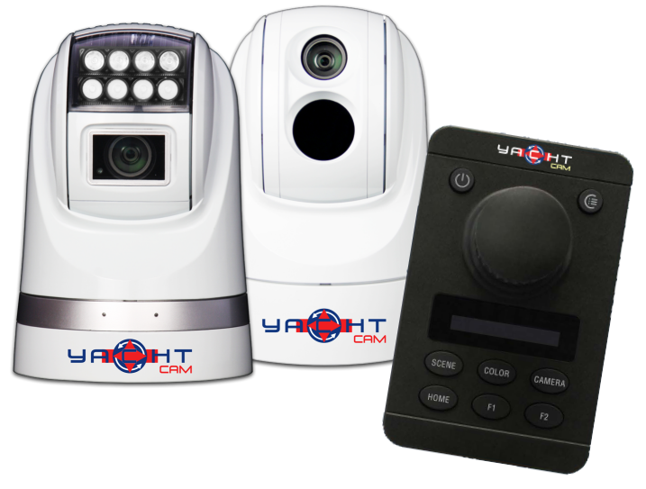 Yacht Cam - Extreme Low Light and Thermal Cameras with Tracking